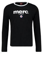Merc Fight Long Sleeved Top Black