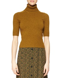 Michael Kors Half Sleeve Cashmere Sweater