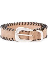 Rag And Bone Braided Belt Brown