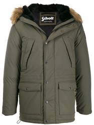 Schott X Artica Hooded Parka Jacket 60