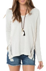 O'neill Women's 'Muse' Lace Trim Pullover
