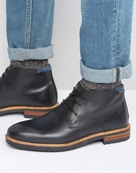 Ben Sherman John Lace Up Boots Black