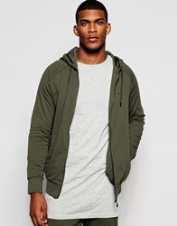 Creative Recreation Concord Zip Up Hoodie Militarygreen