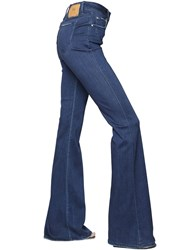 Don't Cry Flare Stretch Cotton Denim Jeans