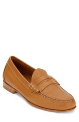 G.H. Bass Men's And Co. Weejuns Lambert Penny Loafer British Tan