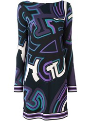 Emilio Pucci Graphic Print Dress Multicolour