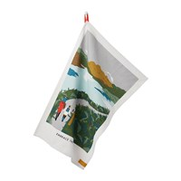 Joules Right To Roam Tea Towel Embrace The Rain