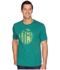 Life Is Good Mountain Bike Woods Smooth T Shirt Forest Green T Shirt