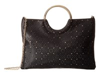 Jessica Mcclintock Sonia Ring Perf Bag Black Handbags
