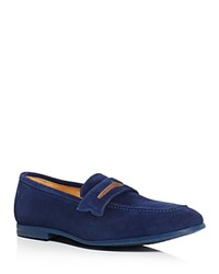 Robert Graham Sandhills Penny Loafers Dark Blue