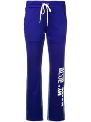 Sjyp My Name Is Blue Track Pants