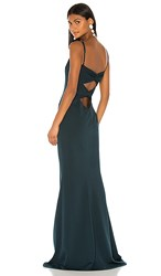 Katie May Forget Me Knot Dress In Dark Green. Dark Emerald