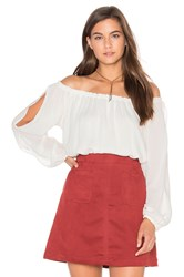 Sanctuary Chantel Blouse Ivory