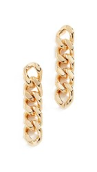 Cloverpost Spring Earrings Yellow Gold