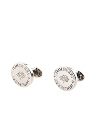 Mulberry Engraved Logo Cufflinks