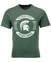 Colosseum Men's Michigan State Spartans Circle Logo T Shirt Green