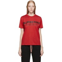 Burberry Red Dovey T Shirt