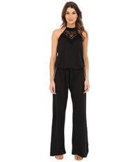 Lucky Brand Natural Fever Jumpsuit Black Women's Jumpsuit And Rompers One Piece