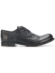 Officine Creative Bubble Shoes Buffalo Leather Calf Leather Leather Black