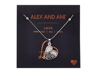 Alex And Ani Path Of Symbols Love Iv Swarovski Expandable Necklace W Swarovski Crystals Rafaelian Silver Necklace
