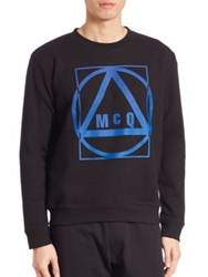 Mcq By Alexander Mcqueen Graphic Sweater Black