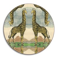 Avenida Home Patch Nyc Wildlife Coaster Giraffe