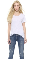 Zoe Karssen Loose Fit Tee Optical White