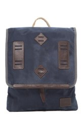 Will Leather Goods Burnt Lake Backpack Blue