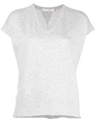 Rag And Bone Jean V Neck T Shirt Nude Neutrals
