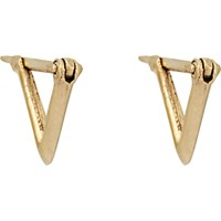 Wendy Nichol Women's Triangular Hoop Earrings No Color