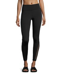 Alala Siren Mesh Panel Performance Leggings Black