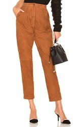 House Of Harlow X Revolve Axel Pant Brown