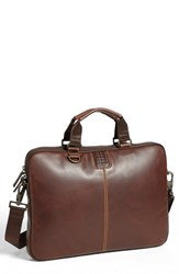 Men's Boconi 'Bryant' Slim Leather Laptop Briefcase