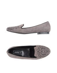 Anna F. Loafers Grey