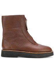 Camper Tyra Boots Brown