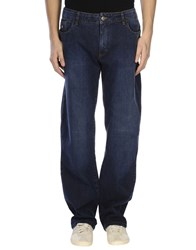 Corneliani Id Denim Denim Trousers Men Blue