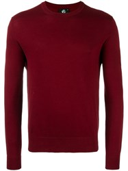 Paul Smith Ps By Crew Neck Jumper Red