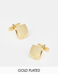 Asos Gold Plated Cufflinks