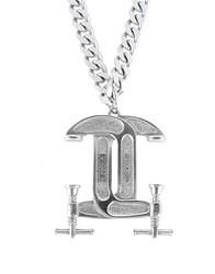 Moschino Necklaces Silver