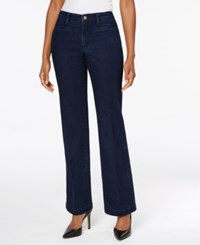 Charter Club Tummy Control Trouser Jeans Created For Macy's Greenwich Wash
