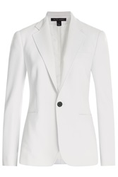 Ralph Lauren Black Label Wool Blazer White