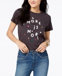 Ban.Do Ban. Do More Is More Cotton Graphic Print T Shirt Black
