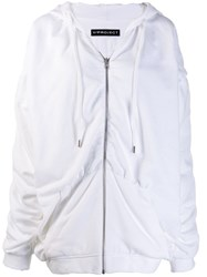 Y Project Oversized Hoodie White