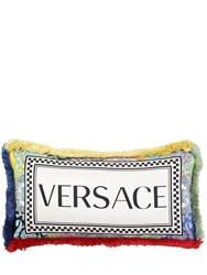 Versace Barocco Patchwork Pillow Multicolor