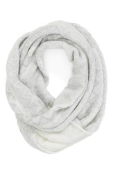 Women's Collection Xiix 'Arctic Nation' Infinity Scarf White Wool White