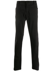 Transit Straight Leg Trousers Black