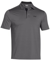 Under Armour Men's Playoff Performance Solid Golf Polo Graphite