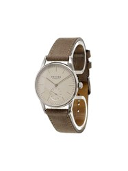 Nomos 'Orion' Analog Watch Brown