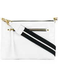 Isabel Marant Nessah Clutch White