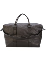 Zanellato Top Zip Holdall Brown